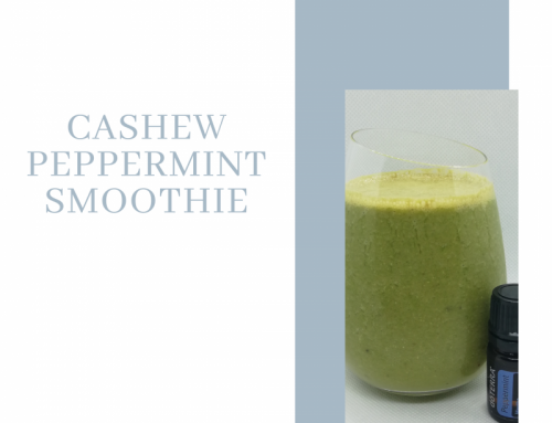CASHEW PEPPERMINT SMOOTHIE